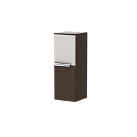 Пенал навесной Ювента MATRIX MXP-85 с декором и без декора