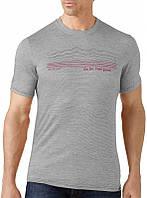 Термофутболка мужская Smartwool Slim Fit Striped Logo