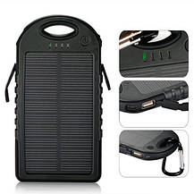 Портативний зарядний пристрій Solar Charger Power Bank 20000 mAh, фото 3
