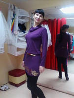 Марина,Санкт-Петербург платье ХРИЗАНТЕМЫ-золото,шерсть-вискоза