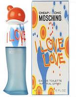 Женская туалетная вода Moschino Cheap and Chic I Love Love (купить женские духи москино чип, лучшая цена) AAT
