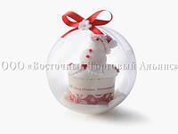 Куля пластиковий для солодощів 268/2 - Ø12 см - 60 шт.
