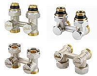 Запорный клапан RLV-KS Н-образный для радиаторов с нижним подключением