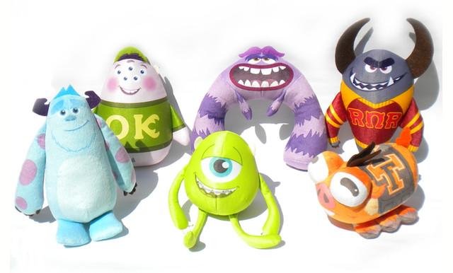 Disney «Университет монстров»: мягкая интер. игрушка «Веселые монстры» в ассорт.