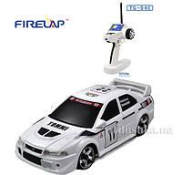Автомодель радиоуправляемая 1:28 IW04M Mitsubishi EVO 4WD Firelap белый FLP-405G4w