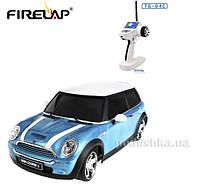 Автомодель радиоуправляемая 1:28 IW04M Mini Cooper 4WD Firelap синий FLP-409G4a