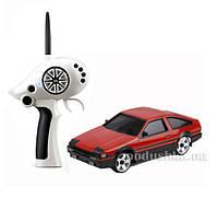 Автомодель радиоуправляемая 1:28 IW02M-A Toyota AE86 2WD Firelap красный FLP-202G6r