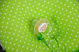 Детская подушка для новорожденных с держателем, салатовая, фото 4