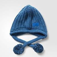 Теплая шапка-бини адидас Climawarm Chunky Peruvian AY7874