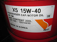 Масло моторное ZIC X5 15W-40 (Бочка 200л) 202647
