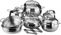Набор посуды Vinzer FINE MAJESTIC 89035 (14 предмет)