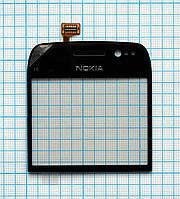 Тачскрин сенсорное стекло для Nokia E6 black