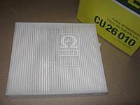 Фильтр салона AUDI, SKODA, VW (угольный) (Производство MANN) CU26010