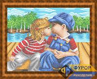 Схема для полной вышивки бисером - Первый поцелуй, Арт. ЛБп3-40