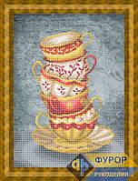 Схема для вышивки бисером - Натюрморт из кружек, Арт. НБч3-101-2