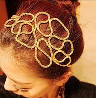 Шикарный плетенный обруч для волос