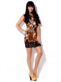 Интригующее мини платье. Модель Лилу