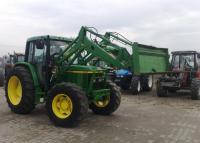 Трактор John Deere 6410 з погрузчиком