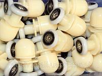 Ролики для душевой кабины  пластиковые ( Х-06 А )  ОПТОМ дешево от 10 штук.