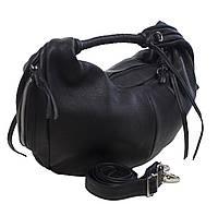 8b75acc54836 Rossi Firenze - Объемная черная кожаная сумка. Производства Италии.