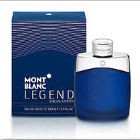 Мужская туалетная вода Mont Blanc Legend Special Edition (мужские духи монте бланк, парфюм монт бланк легенд)