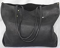 S.Mobi Monete - Большая сумка-Шоппер из массивной кожи.