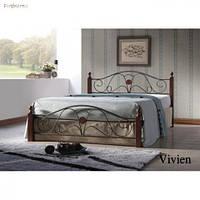 Кровать двуспальная Onder Mebli Vivien 140х200 Малайзия