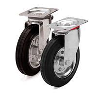 Колеса с поворотным кронштейном и площадкой (10 серия)