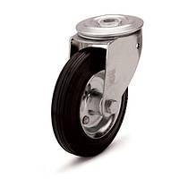 Колеса с поворотным кронштейном и отверстием (10 серия)