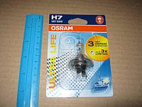 Лампа фарная H7 12V 55W PX26d ULTRA LIFE 1шт.blister (Производство OSRAM) 64210ULT-01B