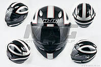 Шлем-интеграл   (mod:R1) (size:L, черно-белый, CLASSICO)   HJC