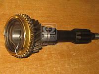 Вал первичный КПП УАЗ 469(31512),452 (нового образца.) с кольцом синхр. (Производство , Ульяновск)