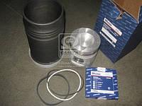 Гильзо-комплект ЕВРО-2 (ГП+К кольца) (инд.гол.) (поршне комплект на один поршень) (Производство ЯМЗ)