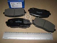 Колодка тормозной HYUNDAI I10 1.1CRDI 12V 08.03-: KIA PICANTO 1.0I 12V 09.11- передний (Производство SANGSIN)