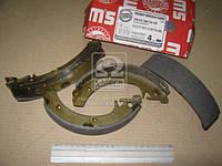 Колодка тормозной ВАЗ 2108 задней (комплект 4 шт) для барабочий тормозной (Производство MASTER SPORT)