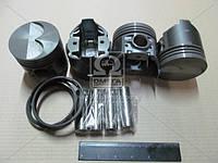 Поршень цилиндра ВАЗ 2105 d=79,0группа D (комплект на двигатель) (Black Edition+п.п+п.к кольца) (МД Кострома)