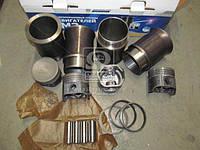Гильзо-комплект ПАЗ 523 (ГП (фосф.)+кольца+палец+уплотнитель) (на 4 цил.) (Black Edition) (МОТОРДЕТАЛЬ)