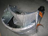 Колодка тормозной МАЗ 5440, КАМАЗ задней комплект (правая+левая) с накладками в сборе (Производство Трибо)
