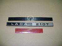 Орнамент задка ВАЗ 2107 LADA 2107 (Производство г.Сызрань) 2107-8212204-20