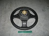 Колесо рулевое ВАЗ 2101-07,2121 Вираж Люкс (3х спиц.) (Производство Россия) 3703-3402010-20