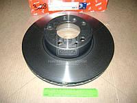 Диск тормозной BMW 5 (E39), 7 (E32) передний, вент. (Производство TRW) DF2602S