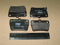 Колодка тормозной CHERY TIGGO, TOYOTA RAV 4 задней (Производство TRW) GDB3279