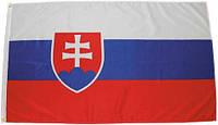 Флаг Словакии 90х150см MFH 35103G