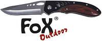 Нож складной из нержавеющей стали Fox Outdoor 45901