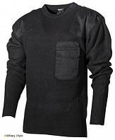 Пуловер BW акриловый (Black) - (Max Fuchs) 54