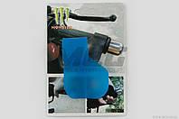 Рычаг круиз контроля ручки газа   MONSTER ENERGY   (универсальный, синий)   XJB