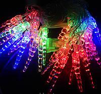 Гирлянда 40 LED 3д сосульки