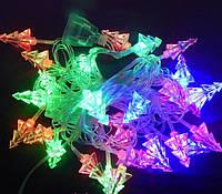 Гирлянда 40 LED 3д елочки