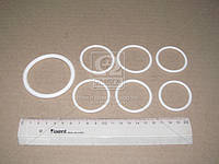 Рем комплект системы охлаждения Камаз (3 позиций) (белый силикон) (Производство ГарантАвто)