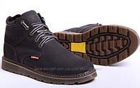 Ботинки мужские кожаные Левис Winter Nubuck - реплика